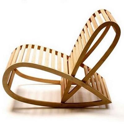 cadeira com design arrojado