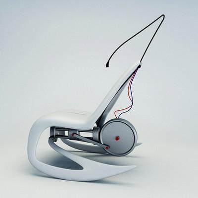 cadeira de balanço elétrica