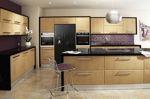 cozinhas de madeira modernas