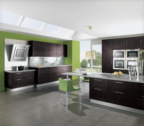 fotos de decoração de cozinhas coloridas modernas