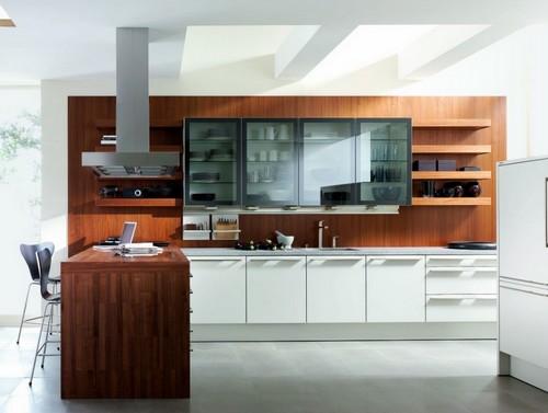 cozinhas com vidro modernas