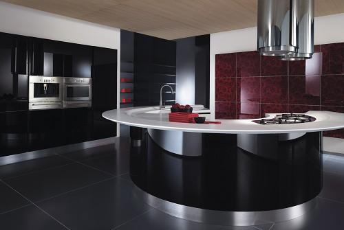 fotos de cozinhas com ilha modernas