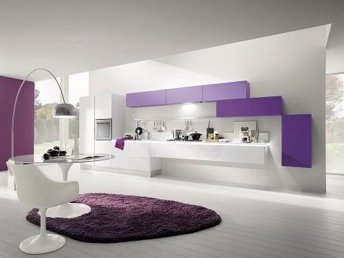 fotos de cozinhas brancas modernas