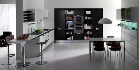 decoração de cozinha moderna para apartamento