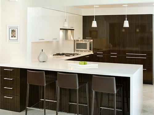 decoração de cozinhas americanas modernas