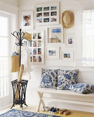 fotos decoração de hall