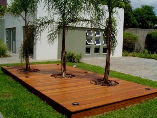 decoração de jardins