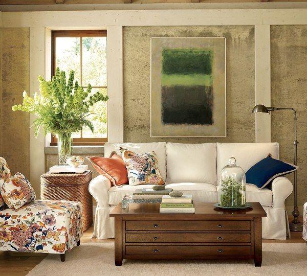 salas decoradas com sofás e poltronas
