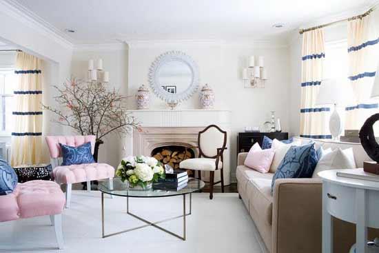 decoração de casa fresca