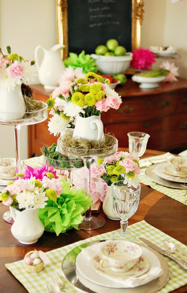 Fotos de decoração de primavera