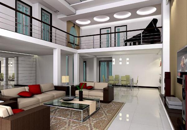 fotos de decoração de casas modernas 2