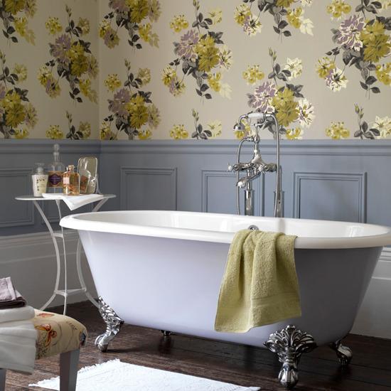 papel de parede casa de banho 2
