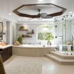 banheiros grandes decorados
