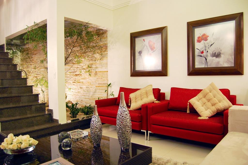 fotos de decoração de salas grandes