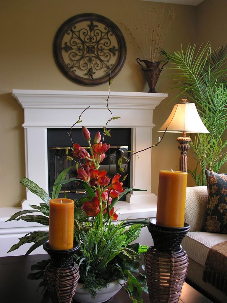ideias de decoração com flores