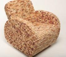 fotos de decoração criativa com objetos reciclados