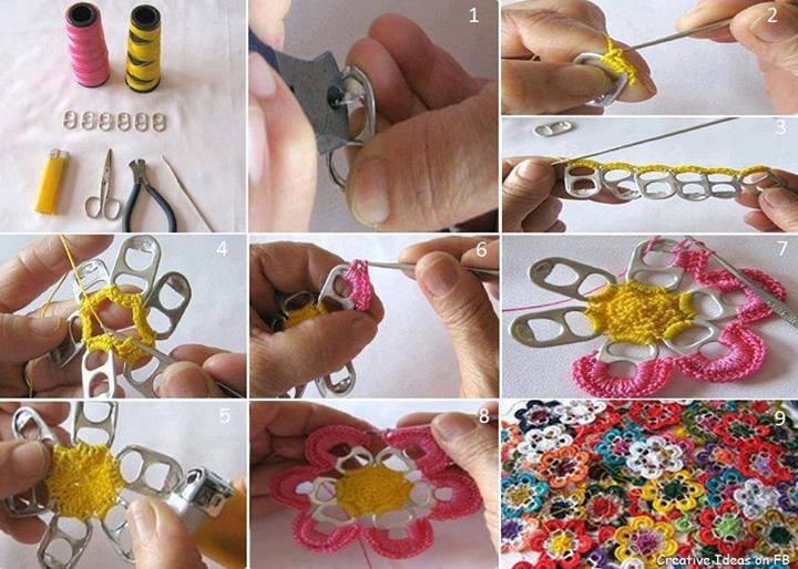 ideias criativas com materiais reciclados