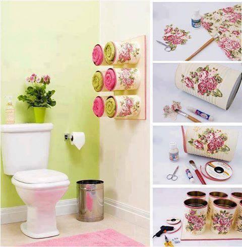 decoração criativa para banheiros