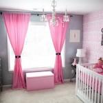 decoração quarto de bebe feminino