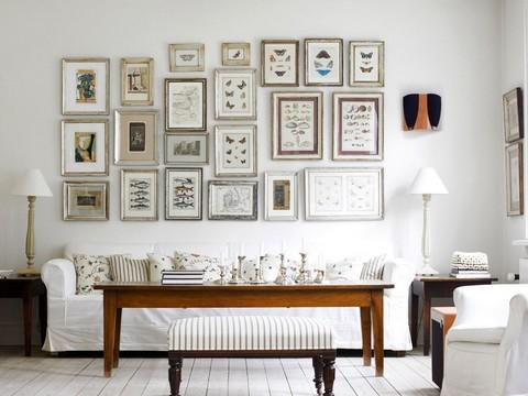 fotos de paredes decoradas com fotos