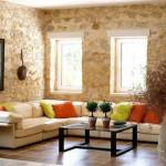fotos de paredes decoradas com pedras