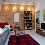 fotos de paredes decoradas com tijolos