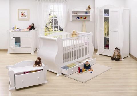 decoração de quarto de bebê completo