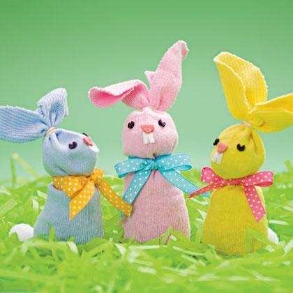 artesanato de páscoa coelhos