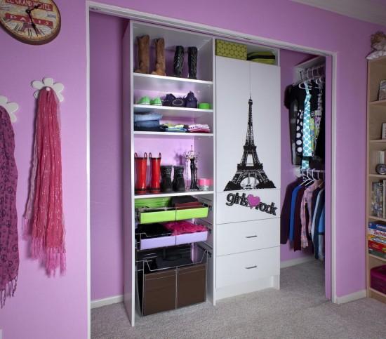 Decoração  guarda roupa