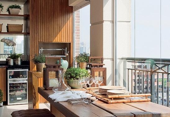 Fotos de decoração de varandas gourmet