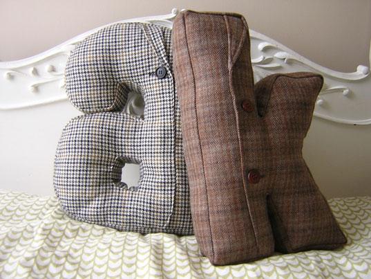 Almofadas personalizadas para a casa