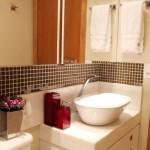 Banheiros pequenos decorados