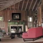 decoração casas de madeira