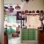 Decoração de casas vintage