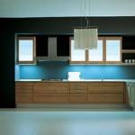 cozinhas coloridas planejadas azuis