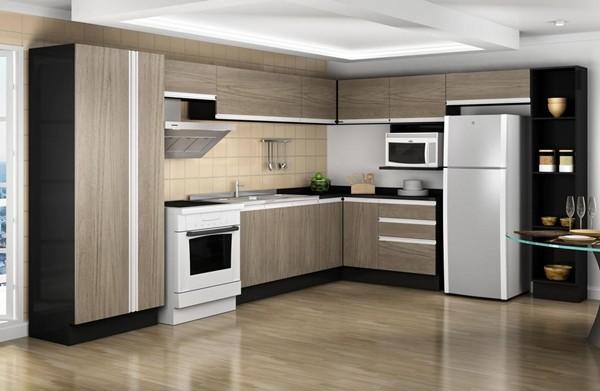 Cozinhas moduladas simples