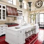 cozinhas rústicas com ilha