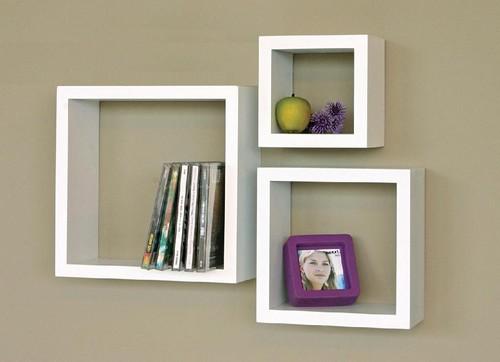 cubos decorativos para parede