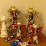 Decoração de Natal com artesanato
