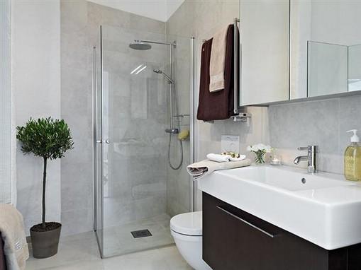 Banheiros simples e modernos -> Banheiros Modernos Simples