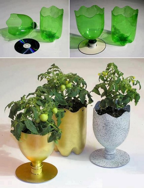 Decoração com recicláveis