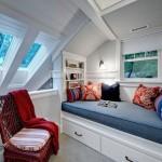 decoração de espaços pequenos sótãos modernos