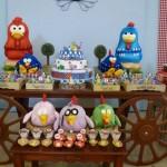 decoração de festa infantil da galinha pintadinha