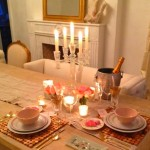 Decoração para jantar do Dia dos Namorados