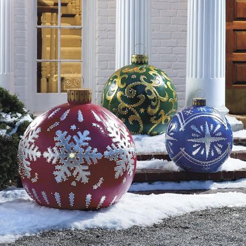 Decoração de Natal para jardim