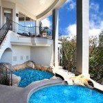 decoração de piscinas