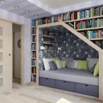 decoração de residencias com livros