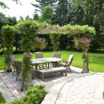Decoração de jardins com pergolados