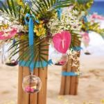 Decorações havaianas