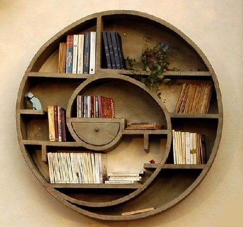 decoração para estantes de livros